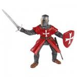Figurine Chevalier de Malte tunique rouge
