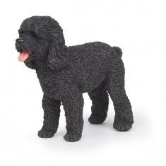 Figurine Chien : Caniche noir