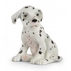 Figurine Chien : Dalmatien bébé assis