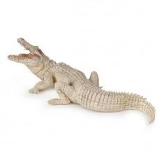 Figurine Crocodile blanc