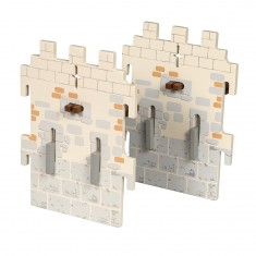 Extension château du maître des armes : 2 Petits murs