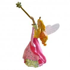 Figurine Fée rose