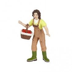 Figurine Fermière au panier
