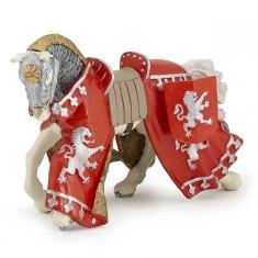 Figurine cheval du prince Richard rouge