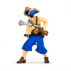 Figurine de pirate à l'escopette