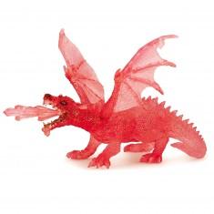 Figurine dragon rubis
