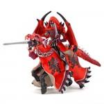 Figurine fantastique : Chevalier ailé et son cheval