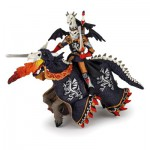 Figurine guerrier dragon et son cheval