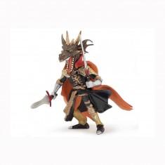 Figurine Homme dragon de feu : Rouge