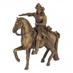 Figurine Louis XIV et son cheval