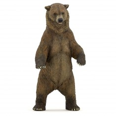 Figurine ours grizzly