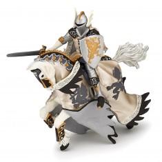 Figurine prince au dragon et son cheval