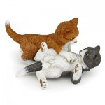 Figurines chats : Chatons jouant