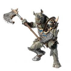 Figurine Homme Rhinocéros