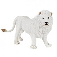 Figurine Lion blanc