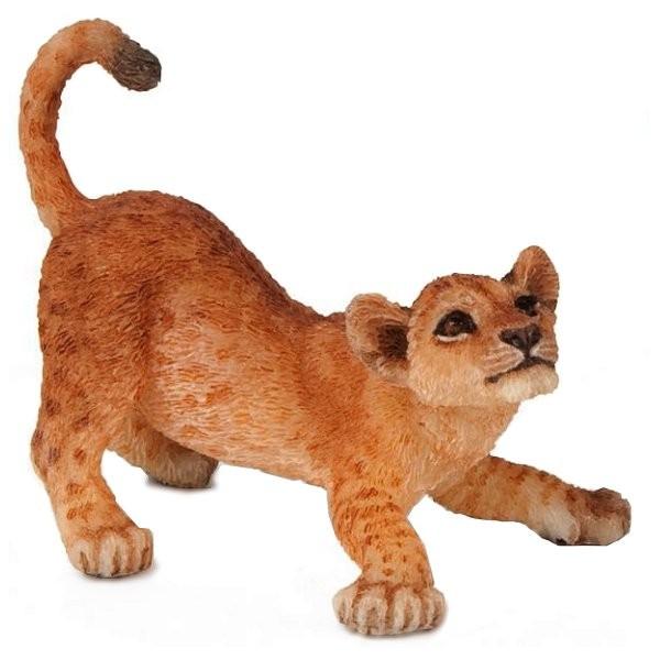 Figurine Lion : Lionceau jouant - Papo-50126