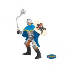 Figurine Officier bleu avec masse d'arme