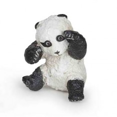 Figurine Panda : Bébé jouant