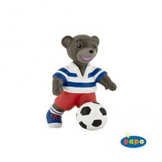 Figurine Petit ours brun au ballon