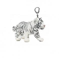 Porte-clés Tigre blanc : Bébé