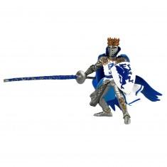 Figurine Roi au dragon bleu