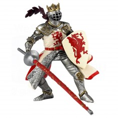 Figurine Roi au dragon rouge