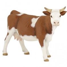 Figurine vache Simmental