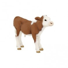 Figurine vache Simmental : Veau