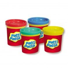 Pâte à modeler : 4 pots