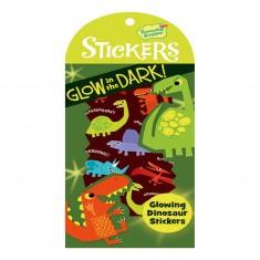 Stickers phosphorecents : Dino