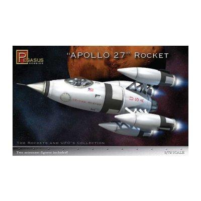 Maquette fusée Apollo 27 - Pegasus-PEG9101