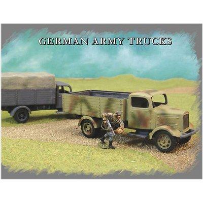 Maquettes camions militaires allemands - Pegasus-PEG7610