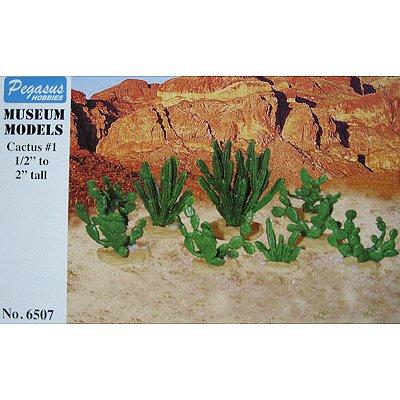 Accessoires de décor : Larges cactus 1 - Pegasus-PEG6507