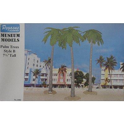 Accessoires de décor : Larges palmiers:19 cm - Pegasus-PEG6502
