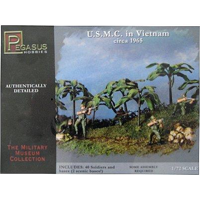 Figurines Guerre du Vietnam : U.S.M.C. 1965 - Pegasus-PEG7401