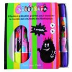 Crayons 8 feutres doubles pointes Barbapapa