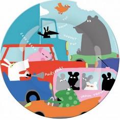 Assiette Transport : Portrait Embouteillage