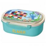 Boîte à goûter Elmer bleue