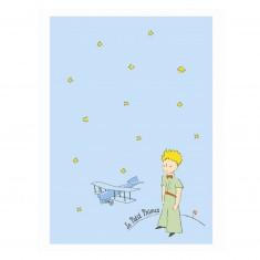 Carnet Le Petit Prince : Bleu clair