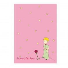 Carnet Le Petit Prince : Rose