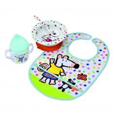 Coffret repas nourrisson : Mimi la souris