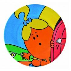 Petite assiette 20 cm : Madame Pourquoi
