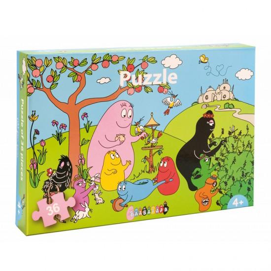 Puzzle 36 pièces : Barbapapa - Petitjour-BA405F