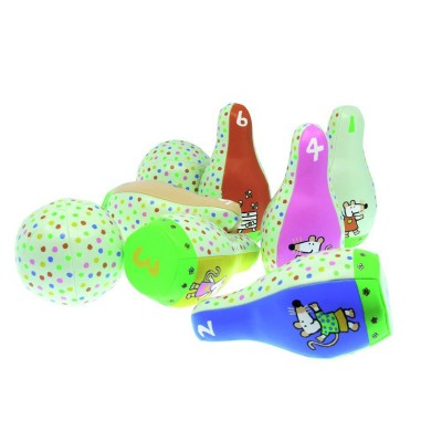 Set de quilles souples mimi la souris jeux et jouets petit jour paris avenue des jeux - Jeux de mimi la souris ...