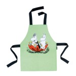 Tablier simple Moomin vert