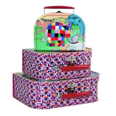 valise en carton elmer petit mod le jeux et jouets. Black Bedroom Furniture Sets. Home Design Ideas