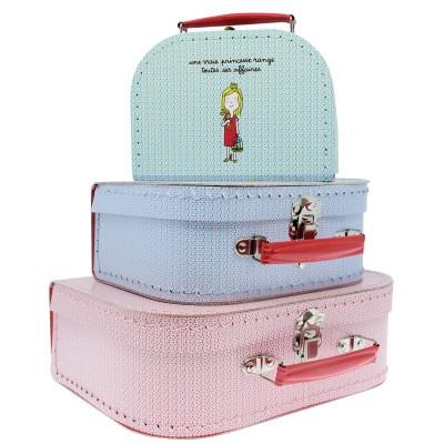 valise en carton princesses petit mod le jeux et. Black Bedroom Furniture Sets. Home Design Ideas