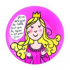 Assiette Princesses - Princesses : Le repas n'est pas fini