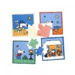 Puzzle 4 x 6 pièces : Mimi la souris