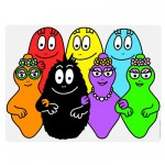 Set de table - Barbapapa : La famille